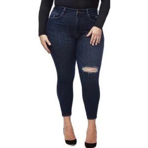 Good American Good Legs Skinny Crop Jeans